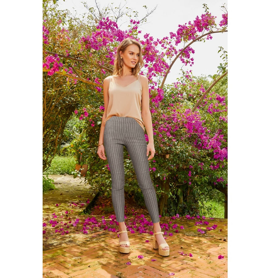 Pantalon-FIORY-Skiny--Gris-Talla-L--Estampado