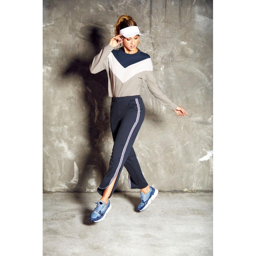 Pantalon-FIORY--Sporty--Chip-Azul-Talla-L--Liso
