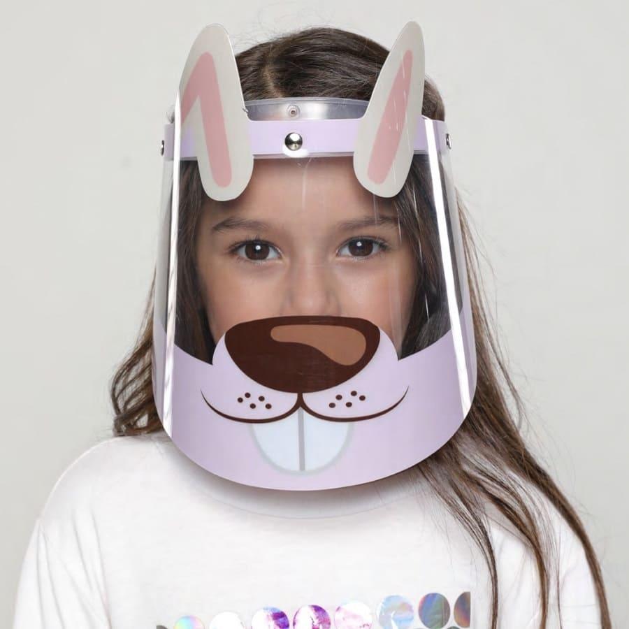 Careta-protectora-infantil-BIUM-Conejito-niña