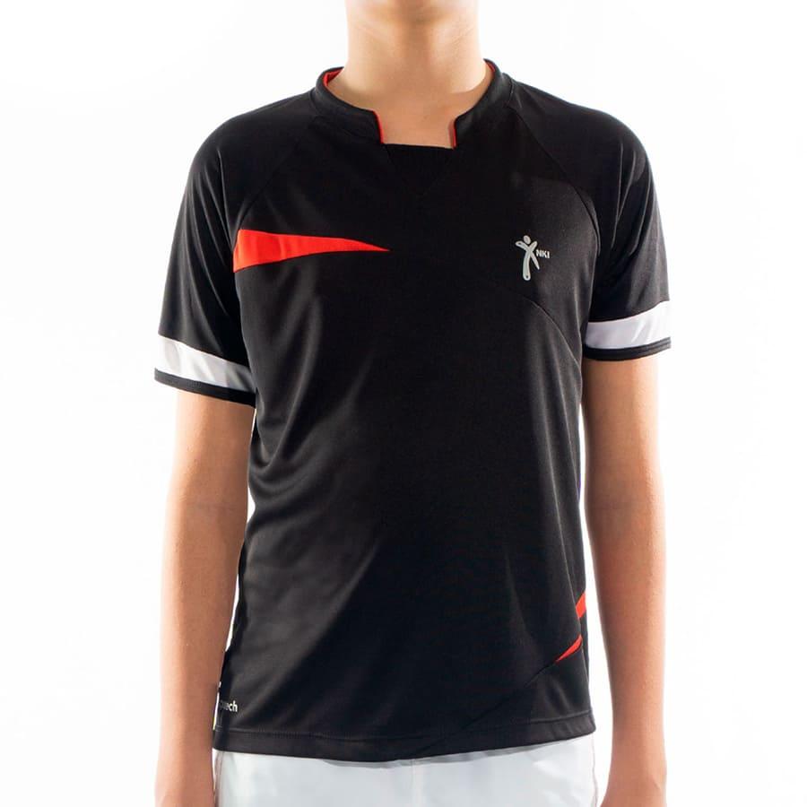 Camiseta-Deportiva-Infantil-NKI-Negro-Talla-6
