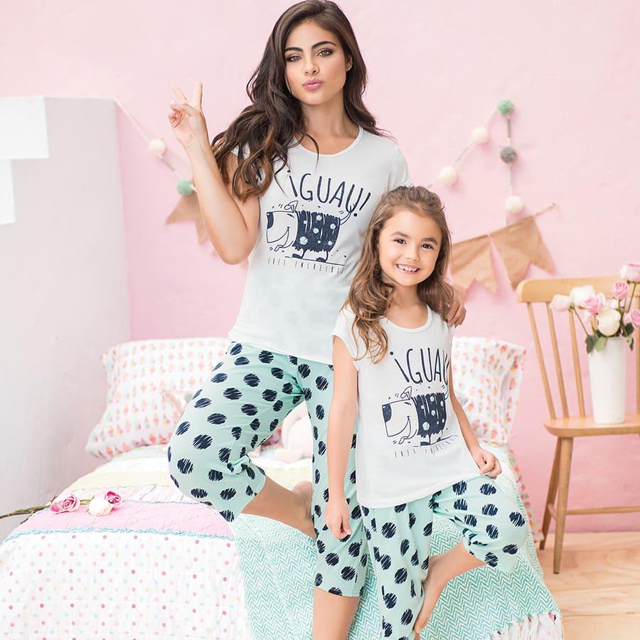 Pijama-de-Mujer-PROVOCAME--de-Lunares-Talla-M