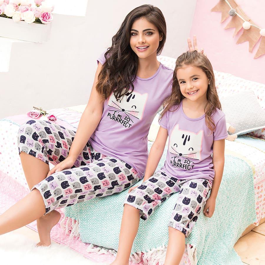 Pijama-capri-PROVOCAME-Cats-Talla-M