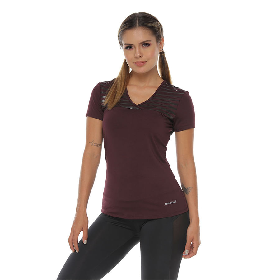 Camiseta-Estampado-RACKETBALL-Vinotinto-Talla-L