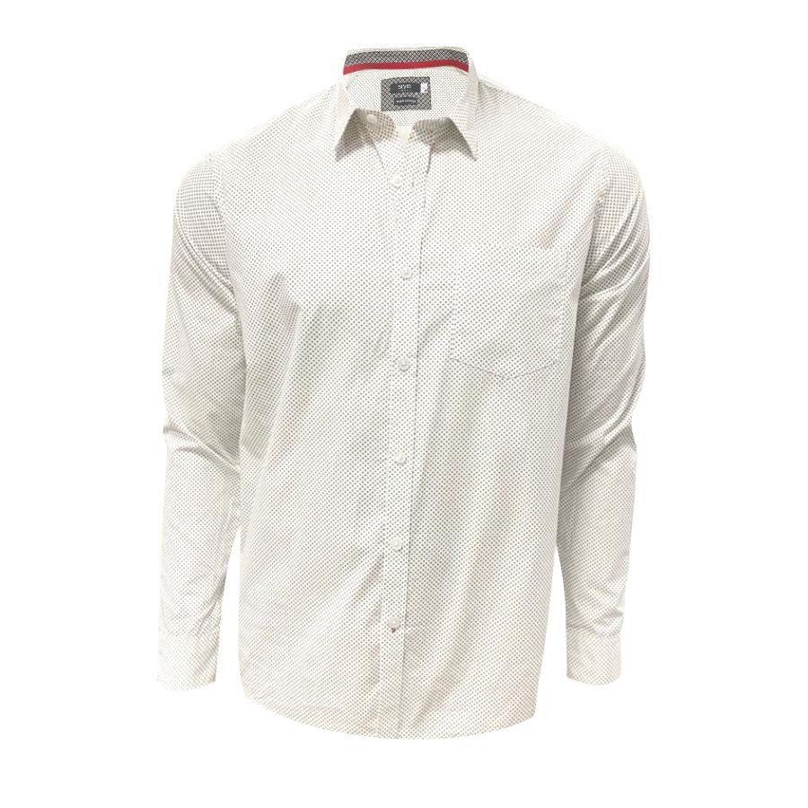 Camisa-STYLE-Manga-Larga-Glen-Check-Talla-L