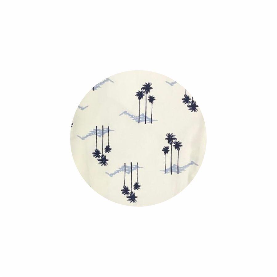Bermuda-STYLE-estampado-de-palmeras-blanco-Talla-38