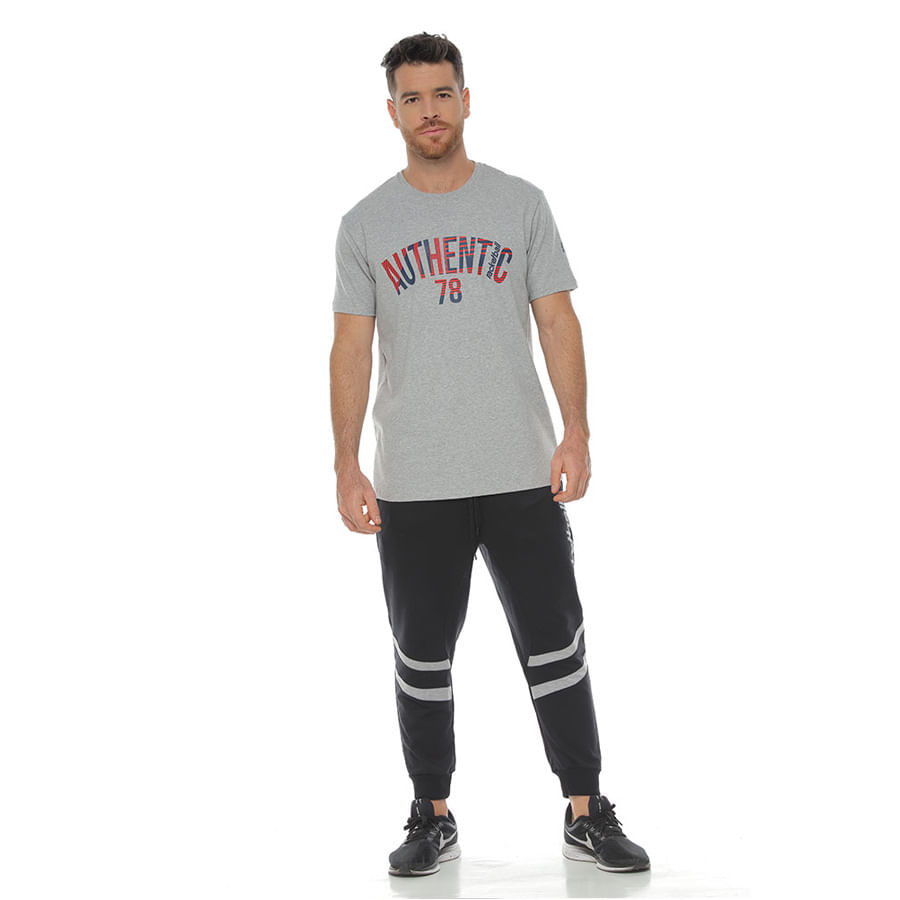 Jogger-RACKETBALL-Rayas-Negro-Talla-M