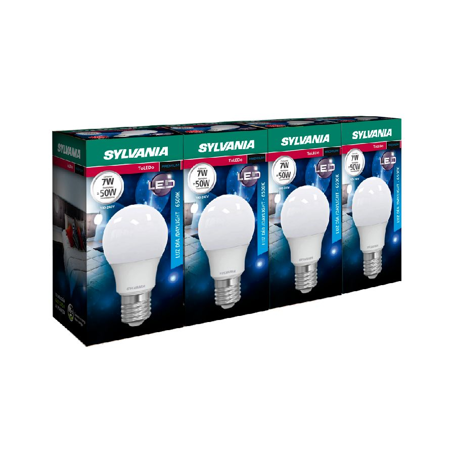 Bombillo-SYLVANIA-LED-7W---Pack-X4