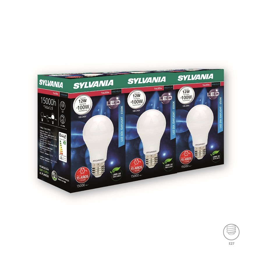 Bombillo-SYLVANIA-LED-12W---Pack-X3