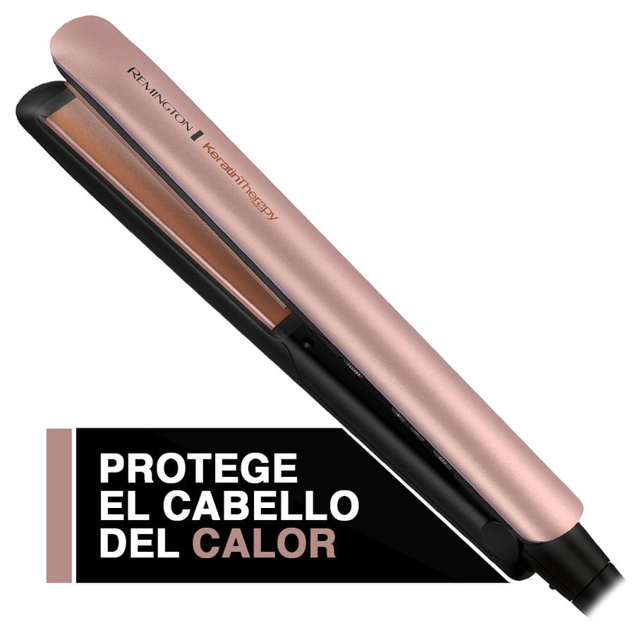 Plancha-Alisadora-REMINGTON-Infundido-Con-Keratin-Y-Aceite-De-Argan---Color-Cobre---S8599