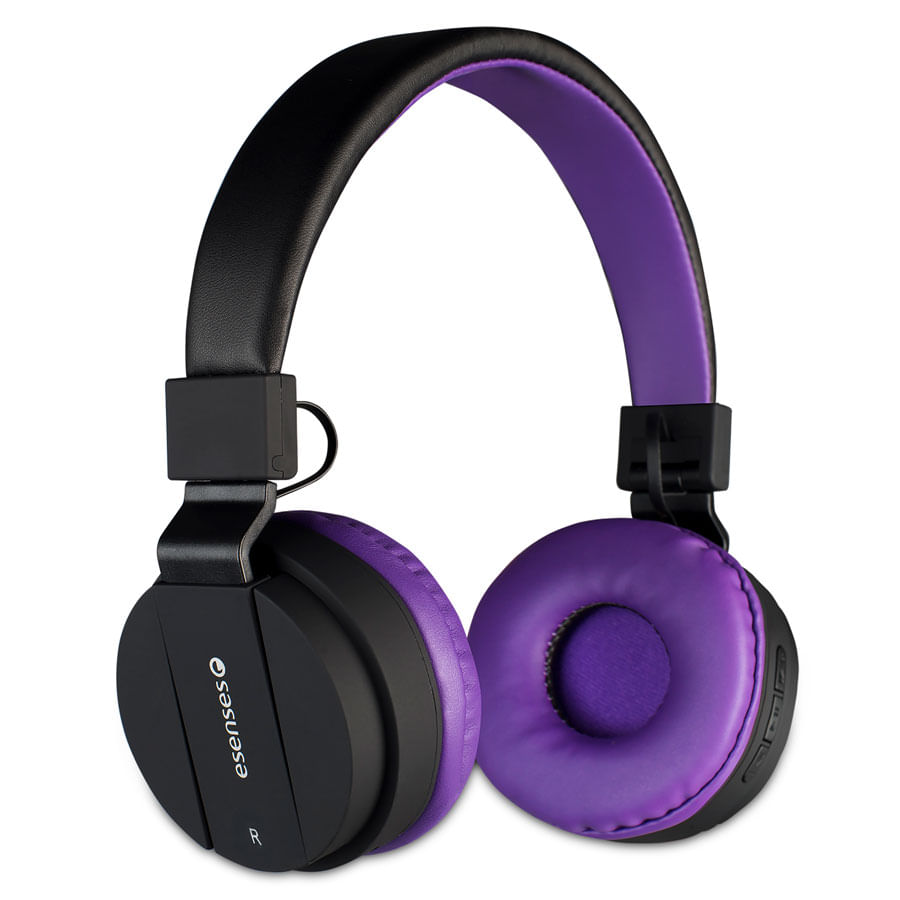 Audifonos-ESENSES-Bluetooth---HP-2080---Morado