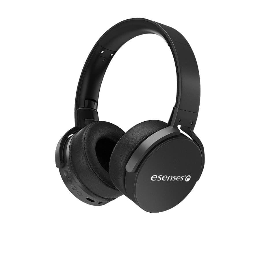 Audifonos-ESENSES-Bluetooth---FM---SD---HP-2090-BT---Negro