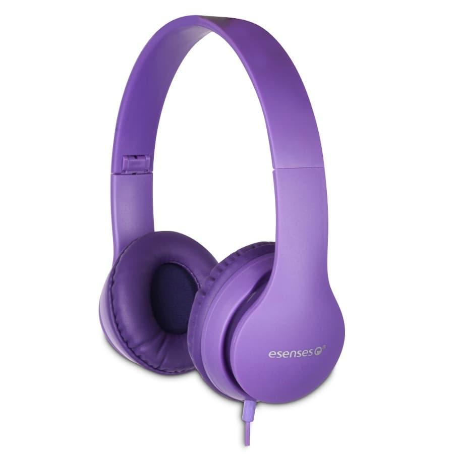 Audifonos-ESENSES-Con-Microfono---HP-801---Morado