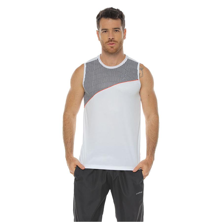 Atletica-DAKOTA-Parte-superior-Estampada--Blanco--Talla-XL