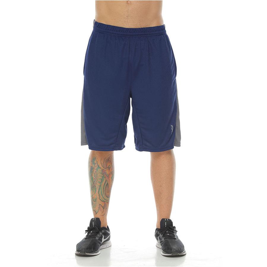 Pantaloneta-Deportiva-DAKOTA-Con-franjas-laterales--Azul---Talla-XL