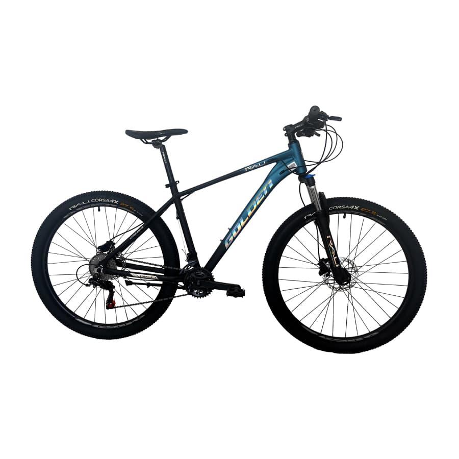 Bicicleta-RALI-Golden-275--Hombre---Azul-Negro-Silver---Freno-De-Disco-Hidraulico