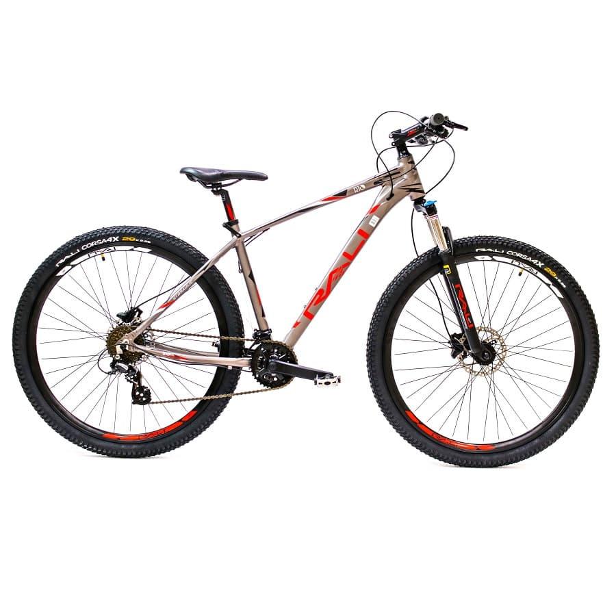 Bicicleta-RALI-Rio-Hidraulica---29----Hombre---Gris-Rojo