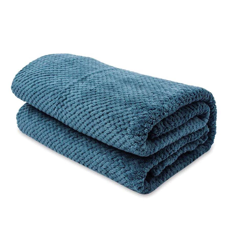 Cobija-DISTRIHOGAR-Popcorn-Fleece---220X220Cm---Azul