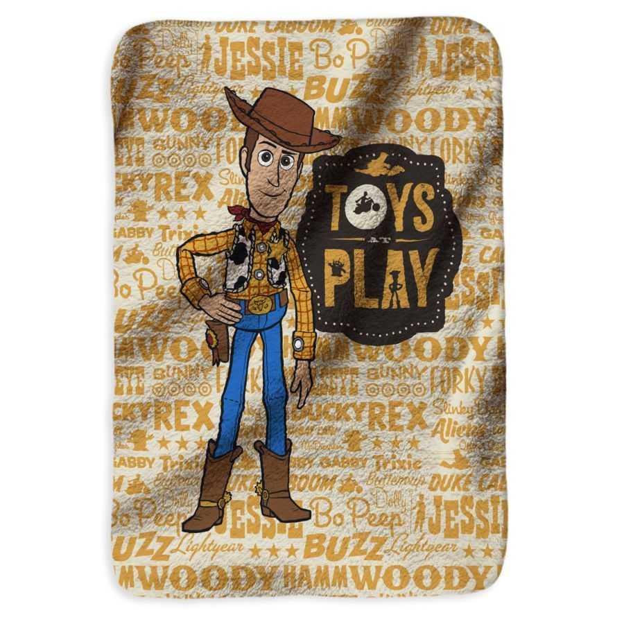Cobija-DISTRIHOGAR-Toy-Story-Woody-Fleece---120X160Cm----Amarilla