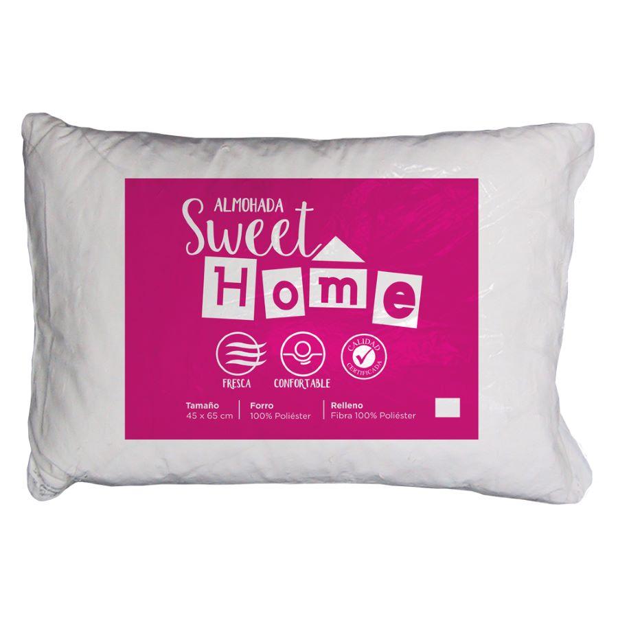 Almohada-SWEET-HOME-45x65---Microfibra---Blanca
