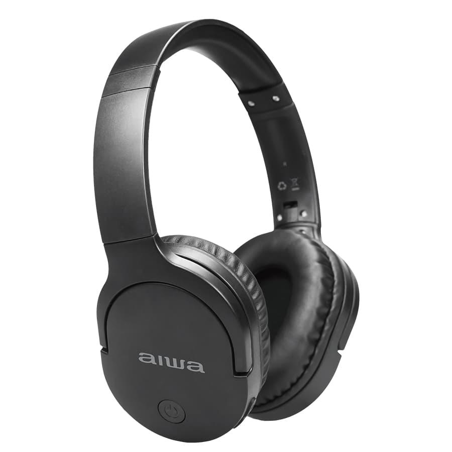 Auriculares-AIWA-On-Ear-Con-Microfono---AWK11B---Negro