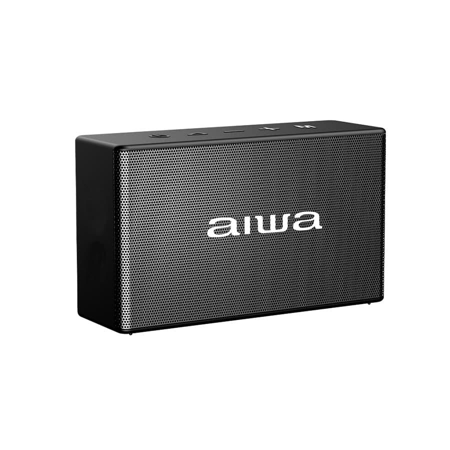 Parlante-AIWA-Portatil---5W-RMS---Bluetooth---TWS---AWAX2BTB---Negro