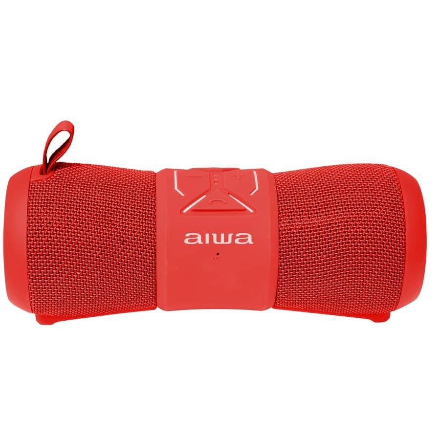 Parlante-AIWA-Portatil---12W-RMS---Bluetooth---AWKF2R---Rojo
