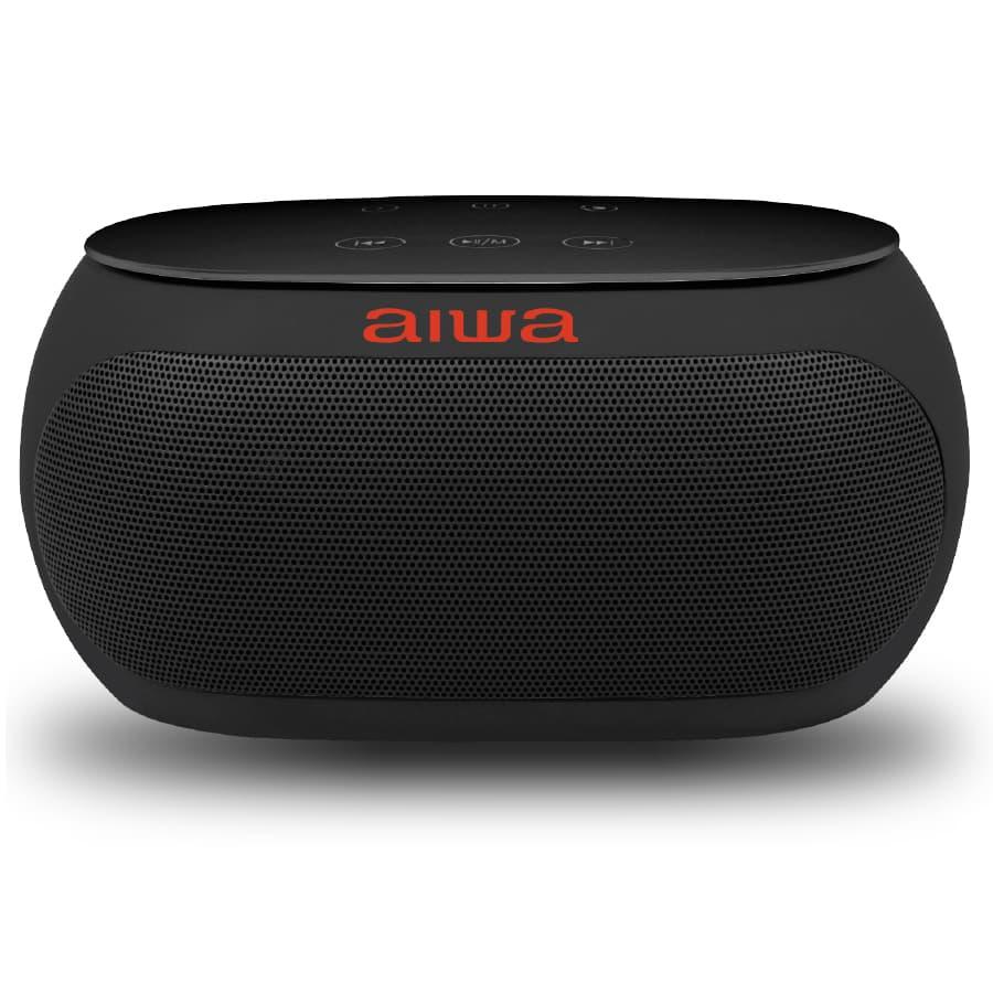Parlante-AIWA-Portatil---10W-RMS---Bluetooth---AW31CB---Negro