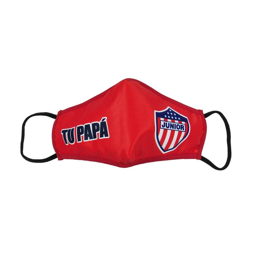 Tapabocas-JUNIOR-Tu-Papa-Rojo