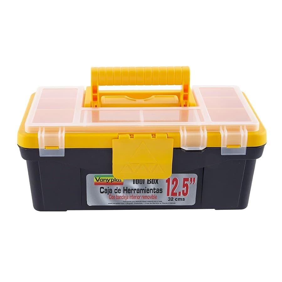 Caja-De-Herramientas-VANYPLAS---125----Cierre-Plastico---Negro-Amarillo