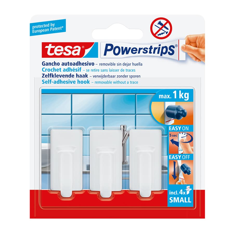 Power-Strips-TESA-Mini-Recto-X3-Unidades---Blanco
