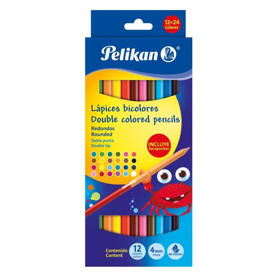 Colores-PELIKAN-Bicolor-Caja-X12