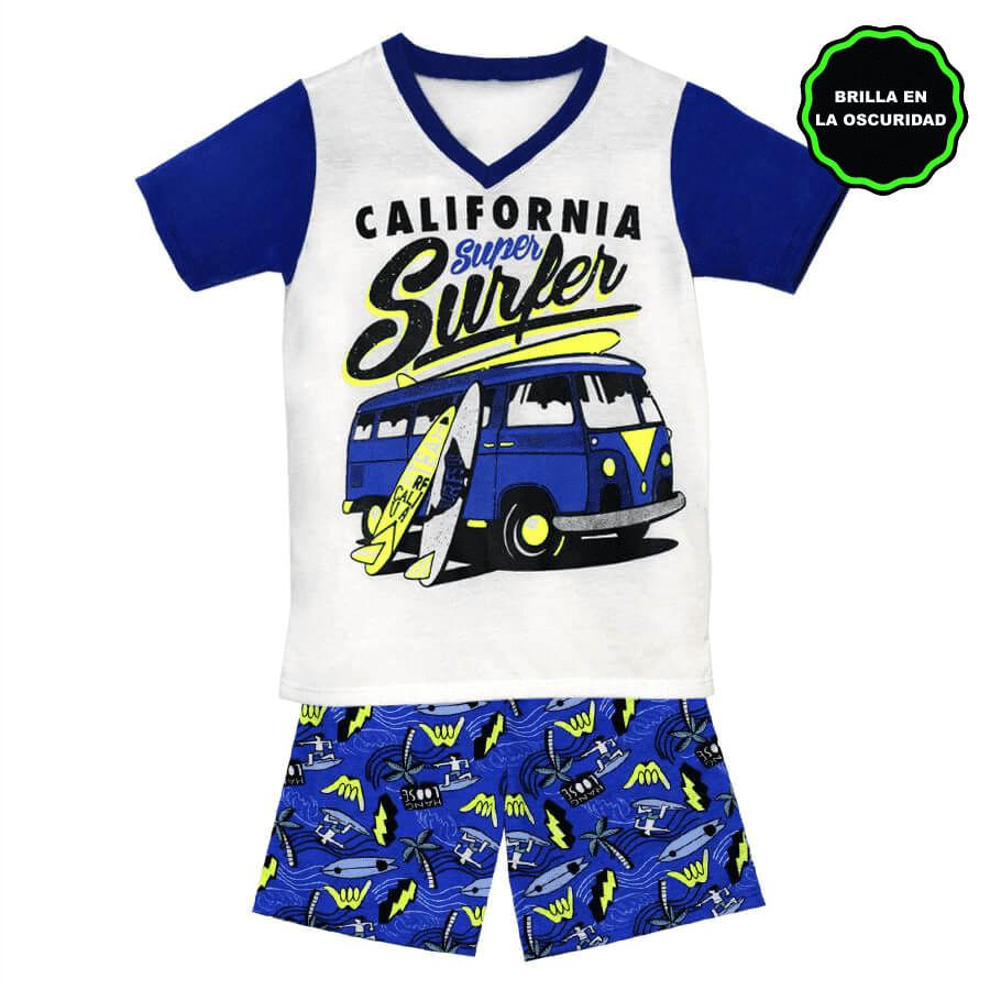pijama-Short-DAKOTA-KIDS-California-Super-Surfer