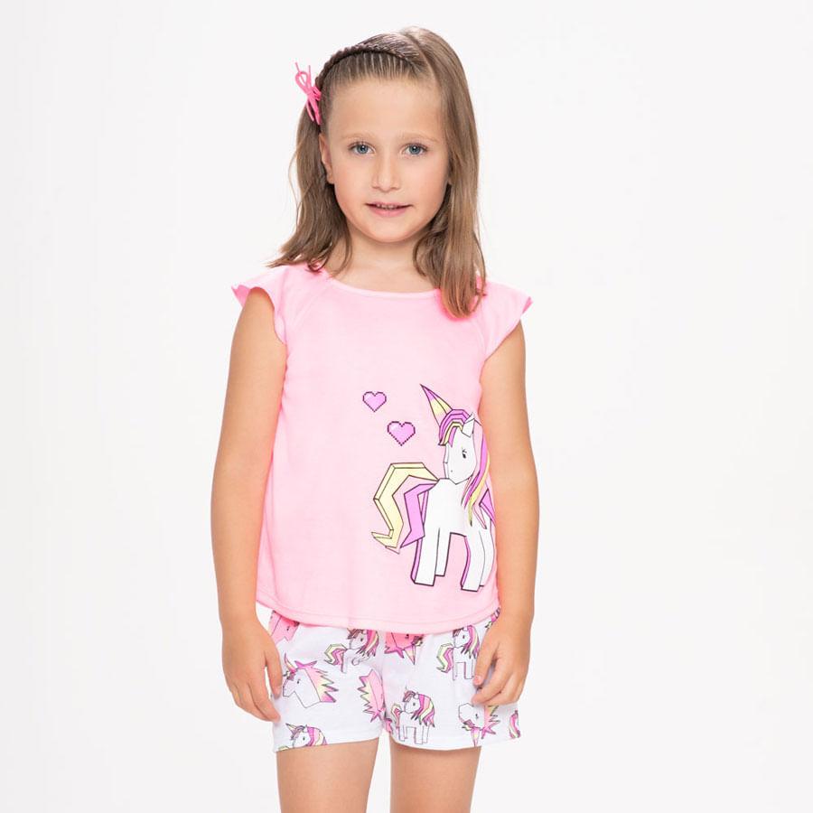 Pijama-Corta-Manga-Pequeña-Unicornio-Corazon-ST-RINA