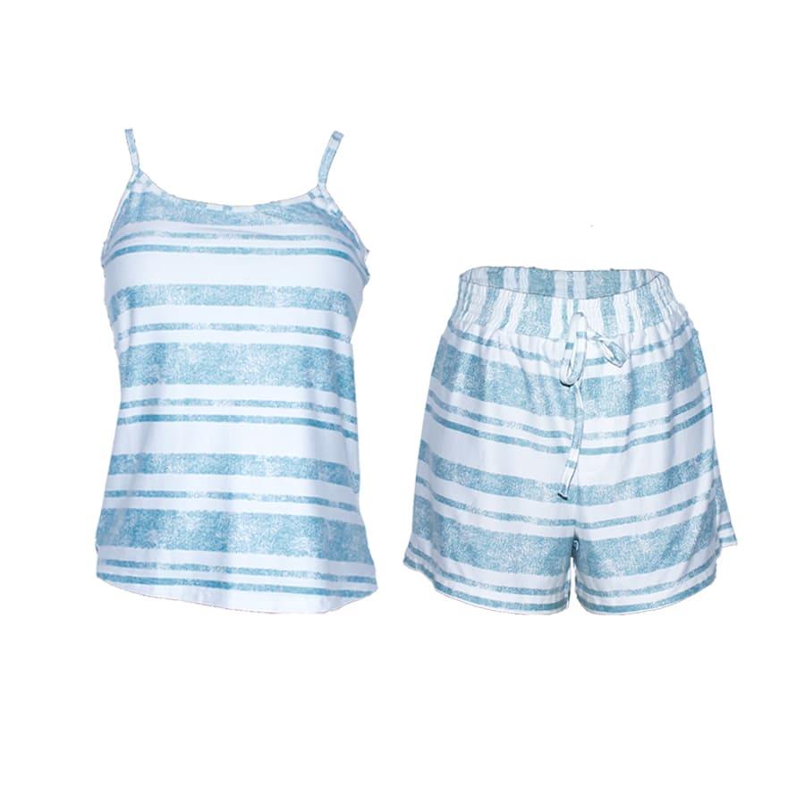 Pijama-Short-DAKOTA-Rayas