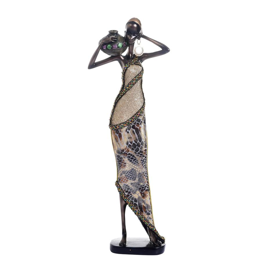 Figura-Decorativa-H-H-African-Lady-559-02651