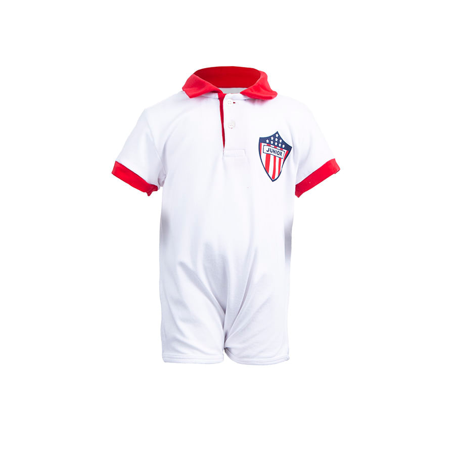 Mameluco-Tipo-Polo-Junior-DAKOTA-BABY-Blanco-Talla-18M
