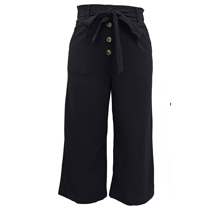 Pantalon-Have-Recto-Lazo-LOS-ANGELES-Negro-Talla-M
