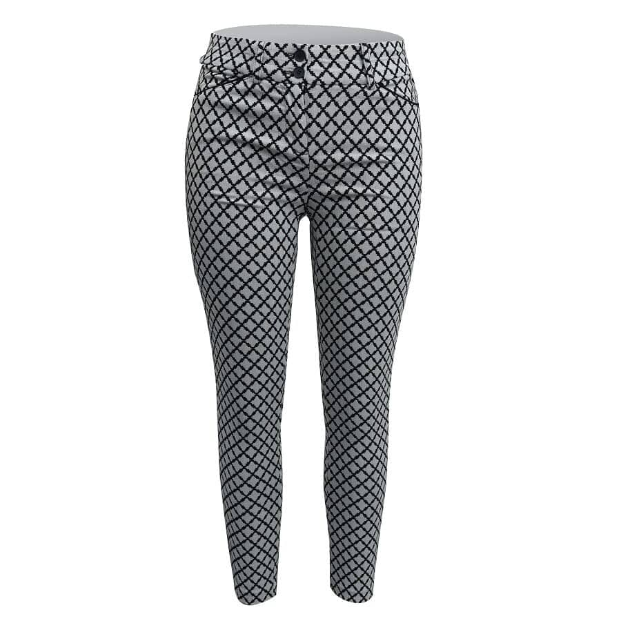 Pantalon-Geometrico-Estampado-LOS-ANGELES-Blanco-Talla-M