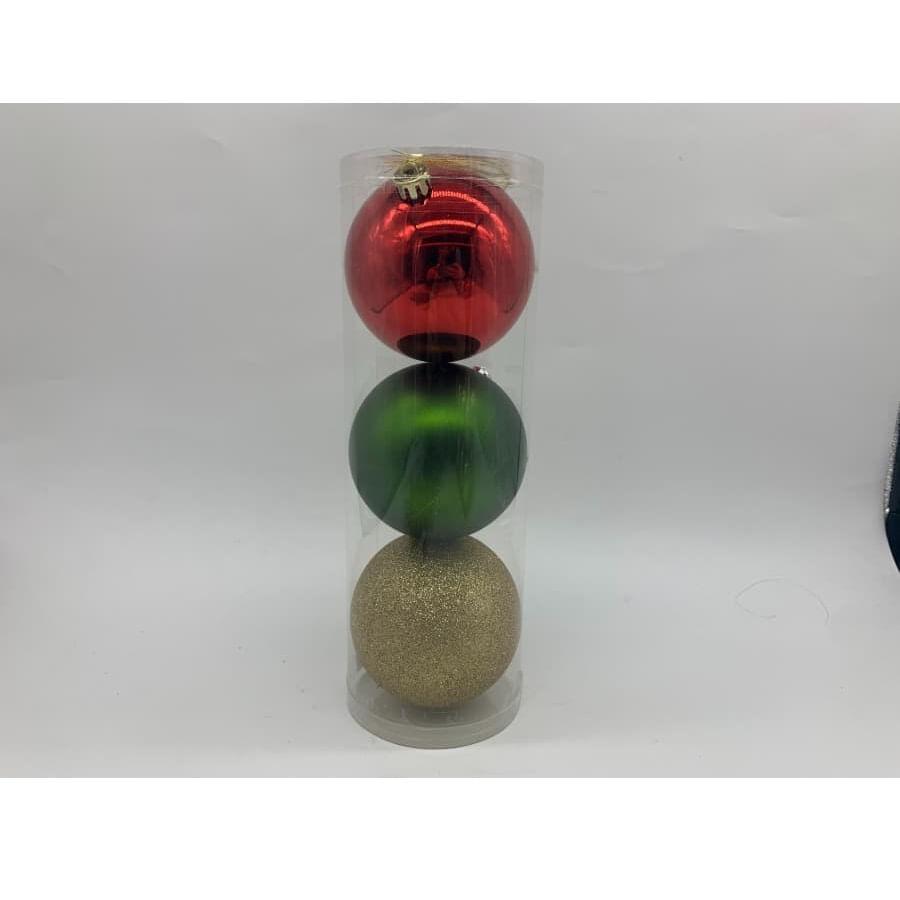 Set-x3-Bolas-CHRISTMAS-HOME-10Cm-Tradicional