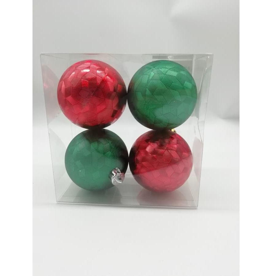 Set-x4-Bolas-CHRISTMAS-HOME-8Cm-Tradicional