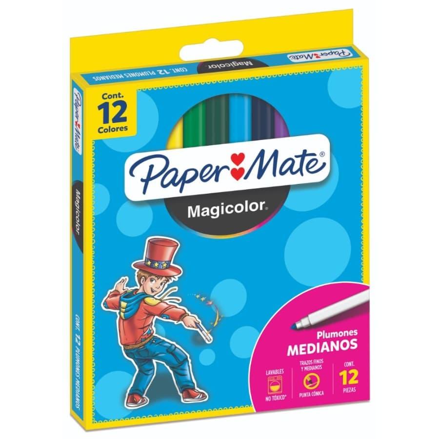 Plumon-PAPER-MATE-Magicolor-Mediano-X12