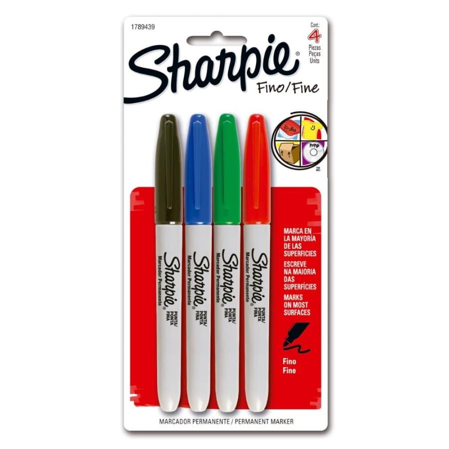Marcador-SHARPIE-Fine-X4-Surtido