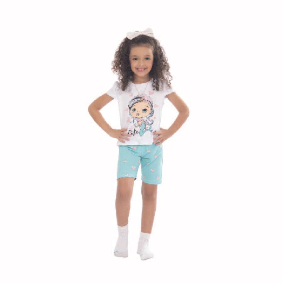 Pijama-DAKOTA-Sirena-cute-Verde-Talla-6