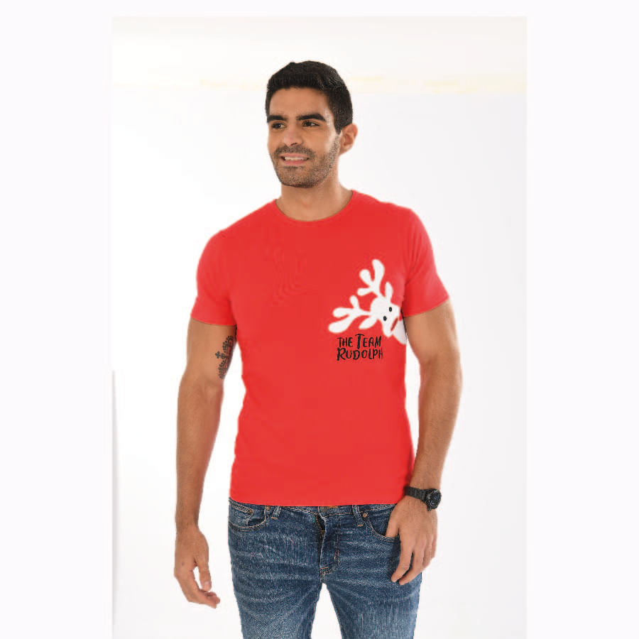 Camiseta-Caballero-DAKOTA-Team-Rudolph-Talla-M