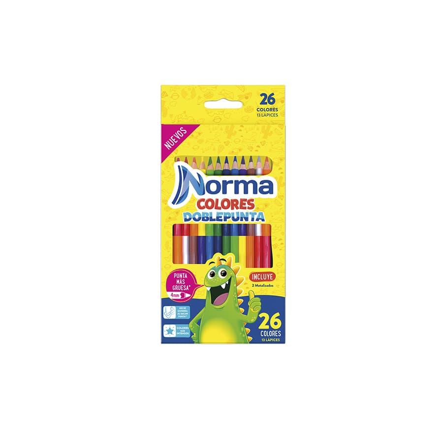 Colores-NORMA-Doble-Punta-13-Unidades