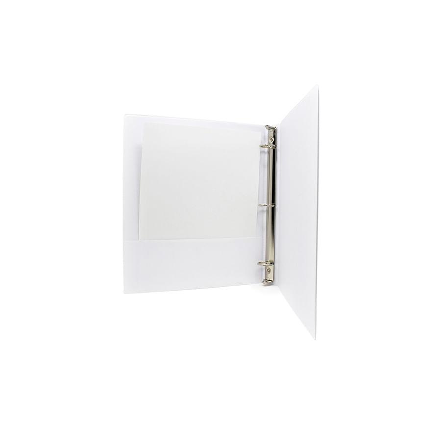 Carpetas-De-Aros-NORMA-Pasta---Catalogo---Blanca---Carta-1-Redondo---3-Aros---6-Unidades