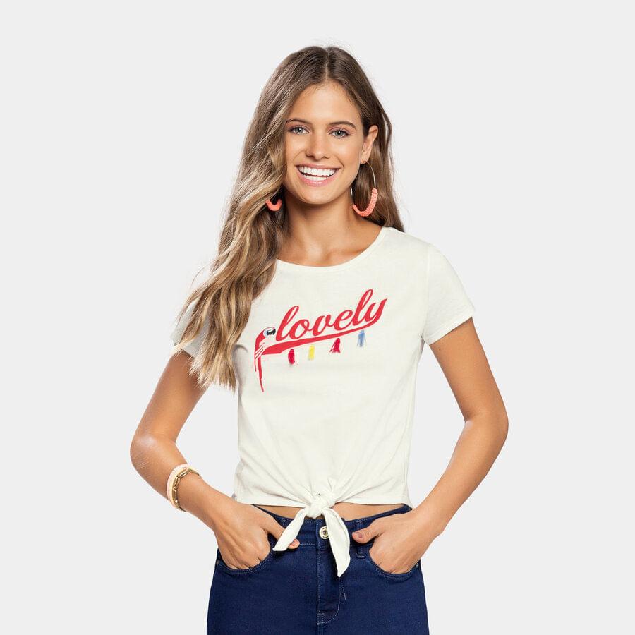 Camiseta-LUNENDER-HITS-Lovely-Beige-Talla-14
