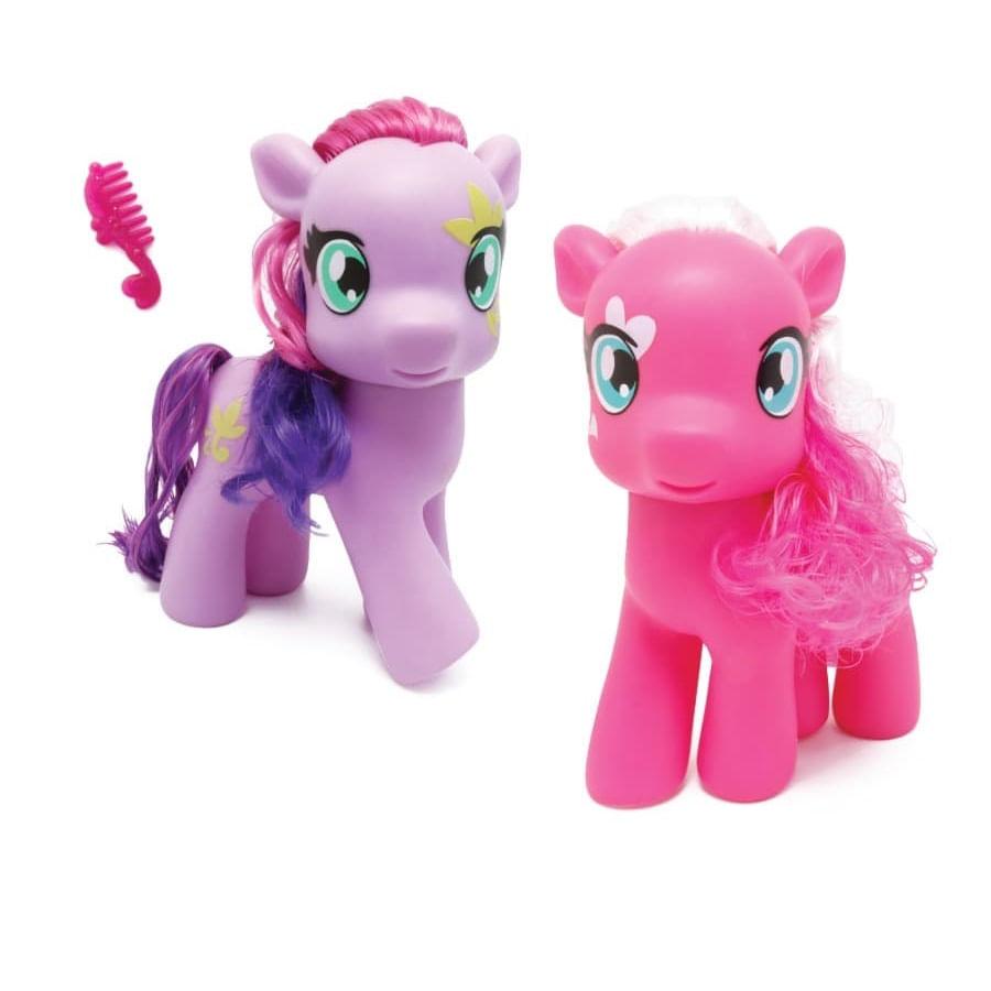 Pony-20Cms---8-Pulgadas---3-Accesorios---Caja-Blister
