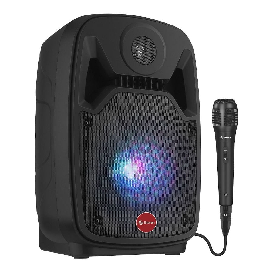 Bafle-STEREN-de-8--550-WPMPO-Bluetooth---Bateria-recargable