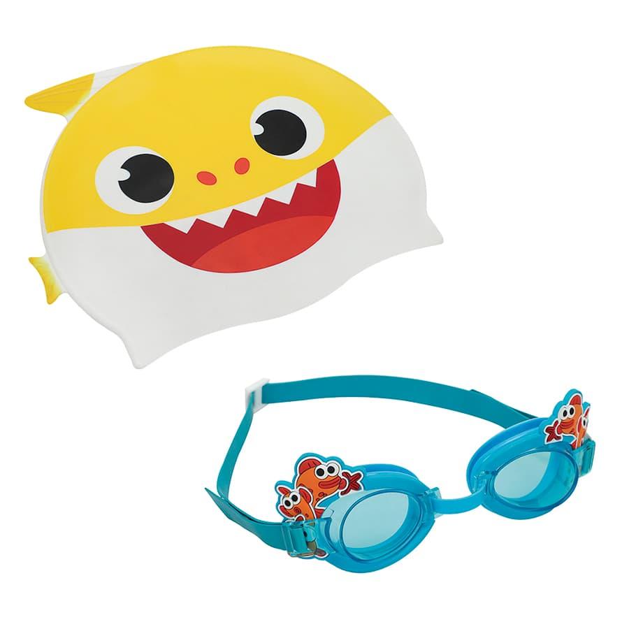 Set-De-BABY-SHARK-Gorro---Gafas
